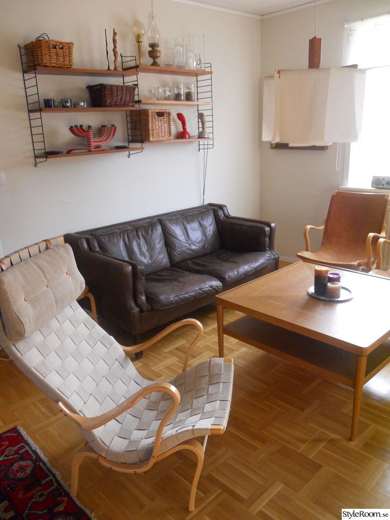 stringhylla,bruno mathsson,soffa Eva Stouby,fåtölj,vardagsrum | Här bor jag | Pinterest ...