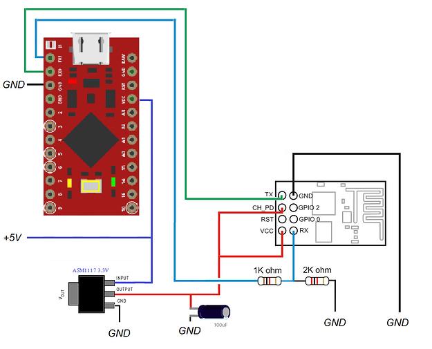Ac dimmer esp shield arduino pro micro