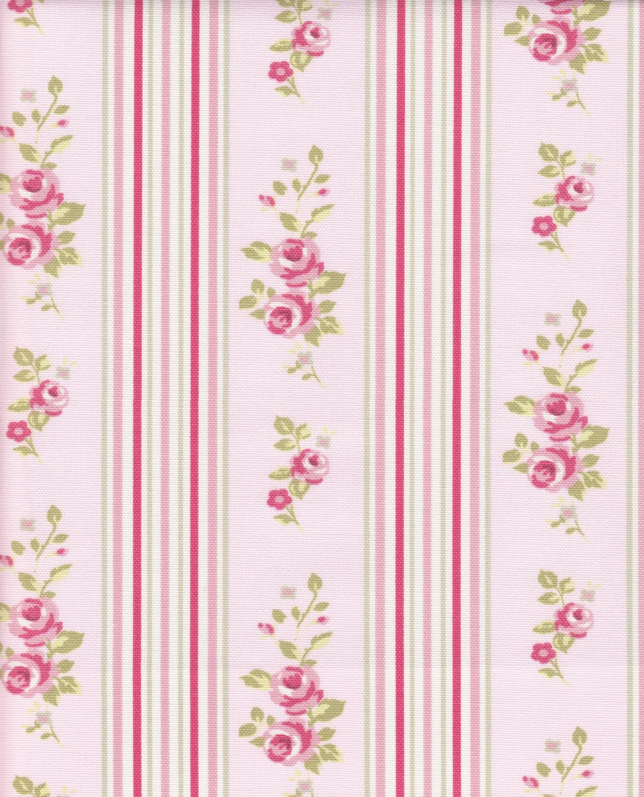 Floral Stripe Pattern