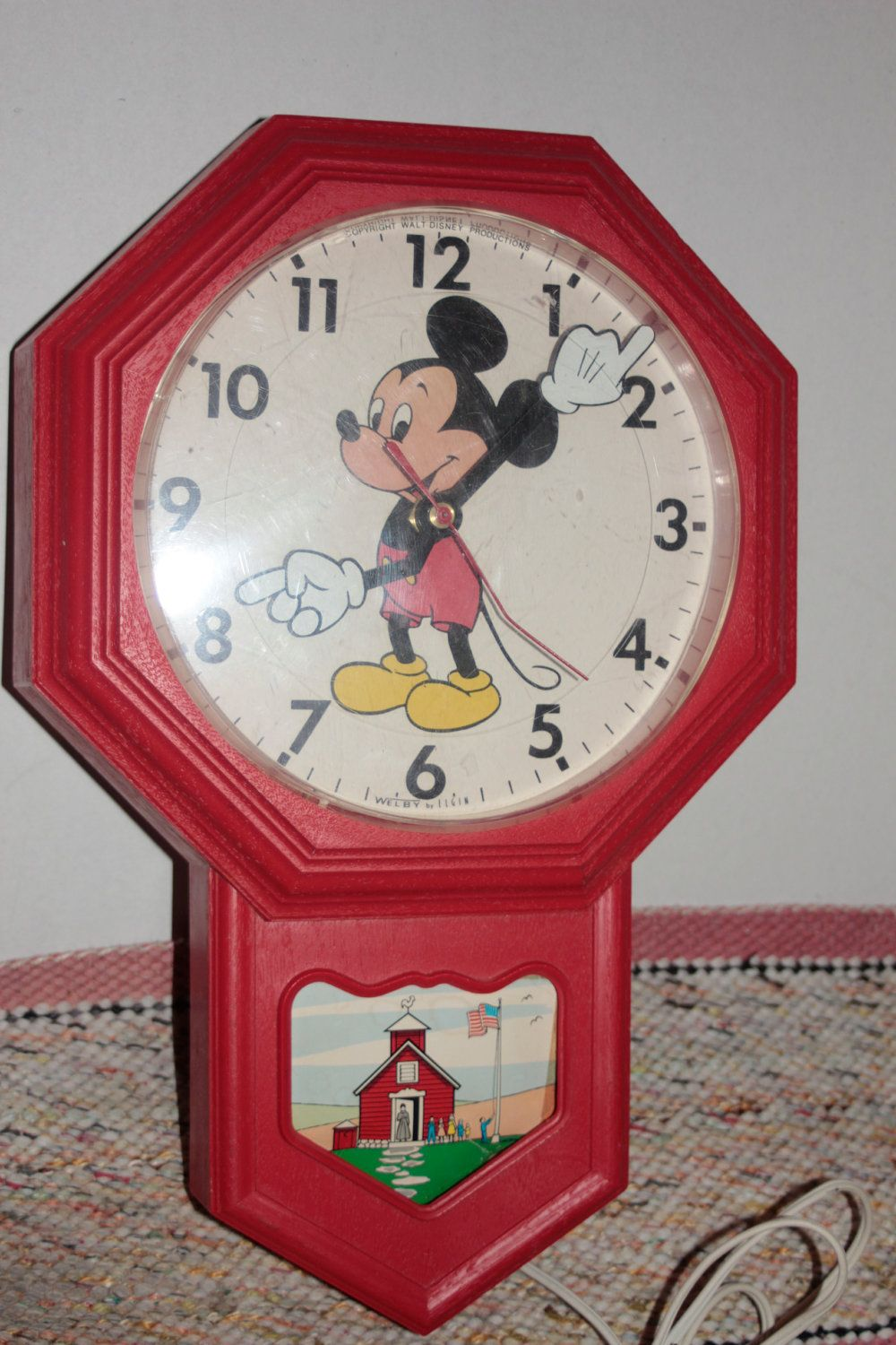 Special Clock A Very Special Clock A Mickey Mouse Clock 34 Oo 1960 S Era