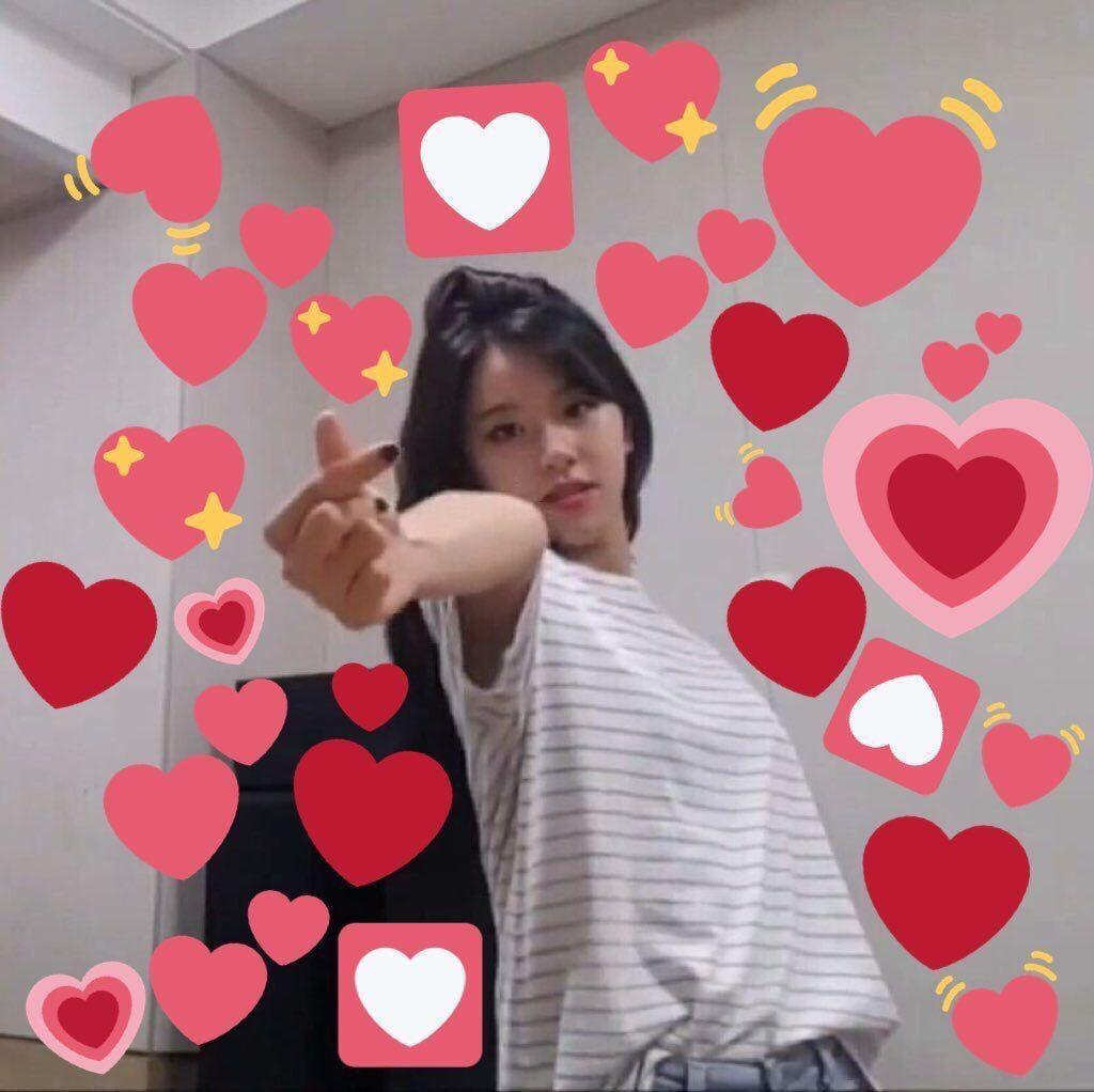 love is a joke (michaeng) | Heart meme, Memes, Cute memes