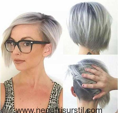 Asymmetrische Haarschnitt Mit Undercut Stil Kurzhaarfrisuren Frisuren Haarschnitte Ausgefallene Frisuren