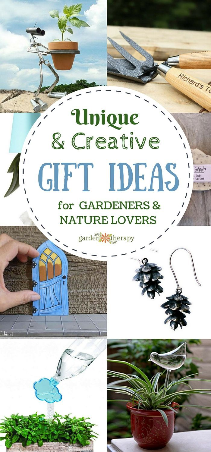 gifts gardeners unique creative lovers nature gift uniquely gardentherapy homemade lover diy gardening using therapy visit