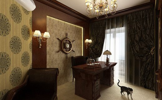 Bürodekor-Ideen Klassisches Bürodesign