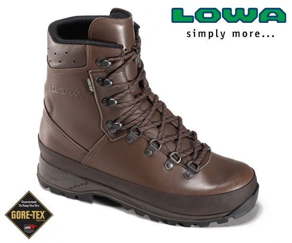 240e17c40a6 Lowa Mountain Boots Brown Gore-Tex® Lined | Black Bear: Hiking ...
