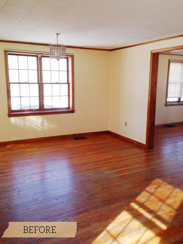 Dining Room Before | Dining Room Makeover Inspiration