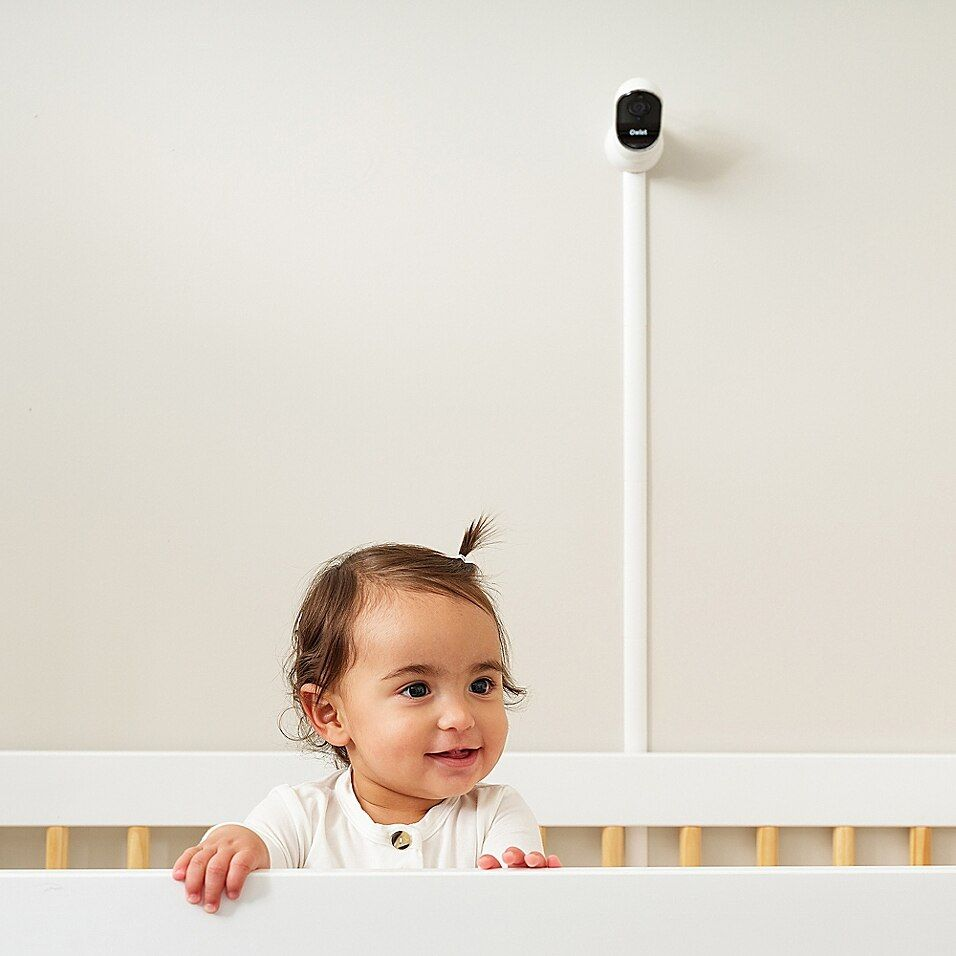 Owlet Cam Wifi Video Baby Monitor - With the Owlet Cam, you can watch over your little one directly from your iOS or Android-based smartphone from nearly anywhere. This cam features HD video, night vision, two-way audio, a room temperature sensor, and 130-degree wide angle viewing and more.