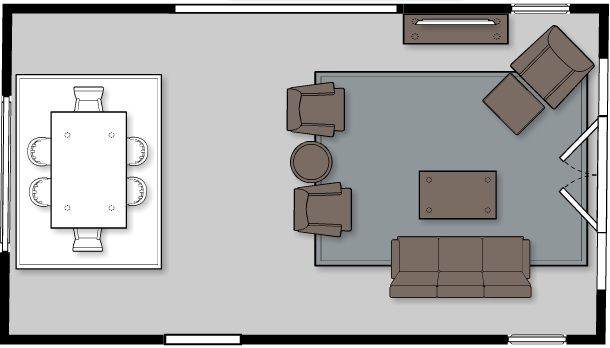 Living Room Layout To Help You Stage Your Home For Sale