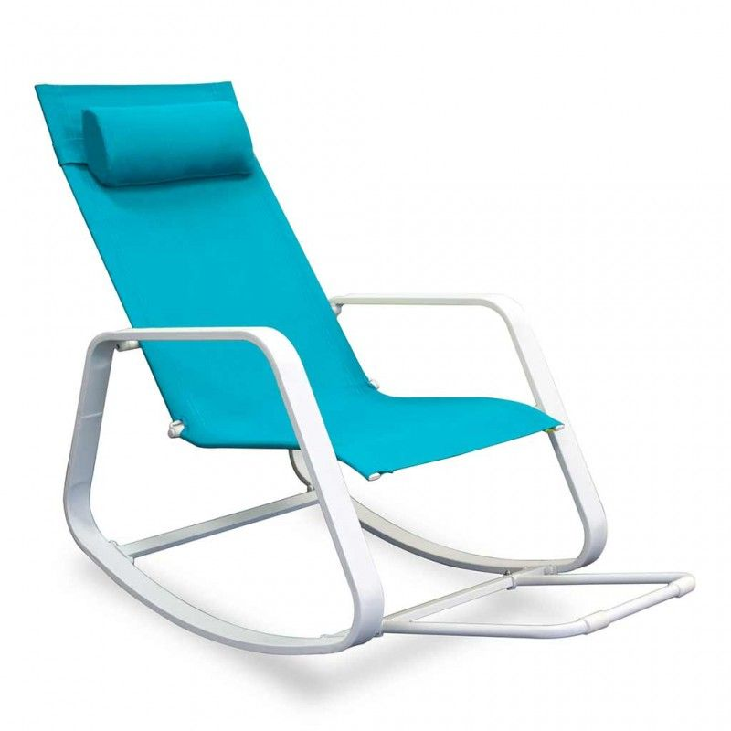Key West Rocker-Fiji Blue - Outdoor Furniture - Outdoor