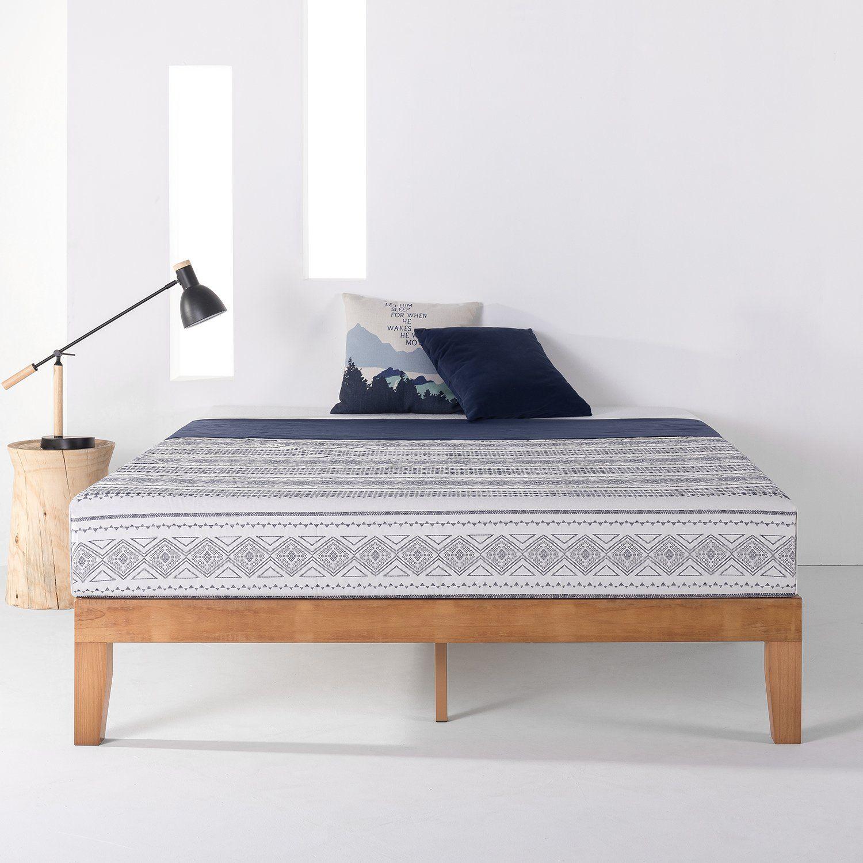 Pin by CAMPION INTERIOR DESIGN on DORM Wood platform bed