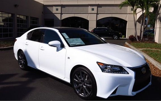 2014 Lexus Gs 350 F Sport Ultra White Dream Cars Lexus Lexus Sport New Luxury Cars