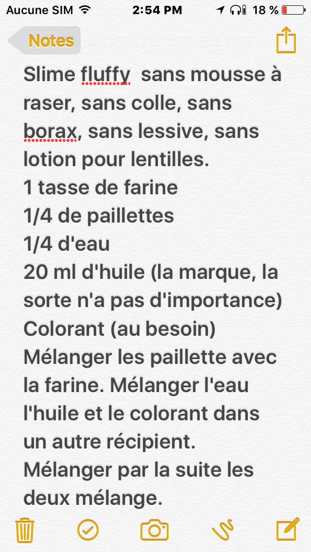 Slime Sans Colle Ni Borax : slime, colle, borax, Slime, Fluffy, Mousse, Raser, Colle, Borax, Lessive, Slime,, Facile,, Recette
