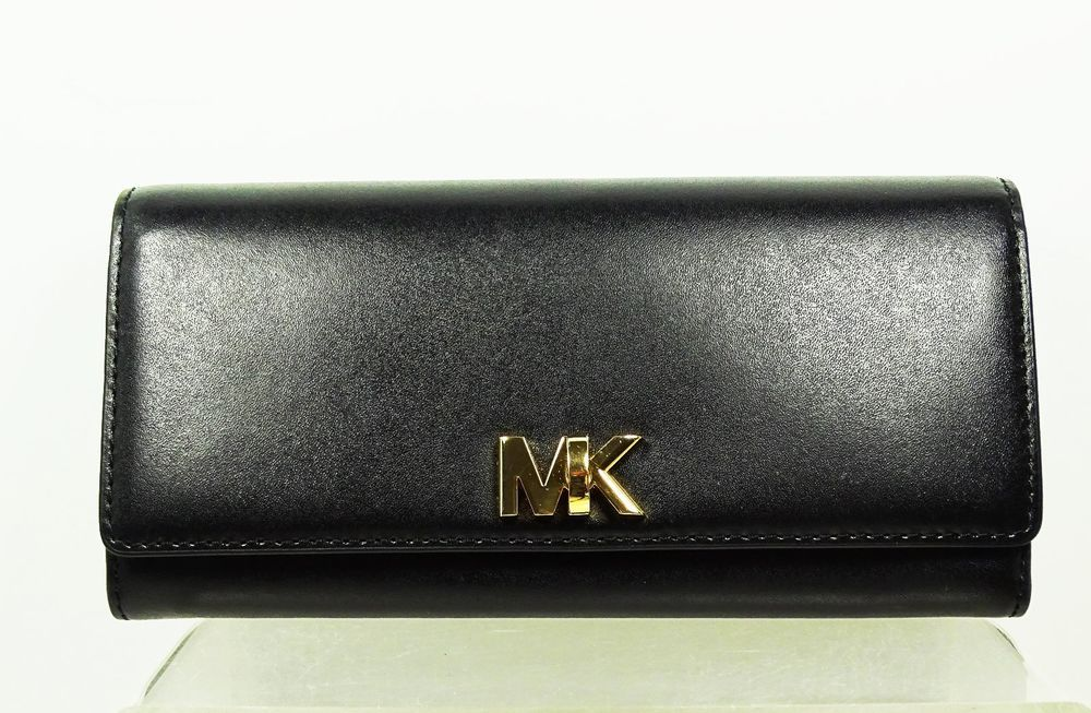 e90d33990f40 MICHAEL KORS Fulton Genuine Black Leather Carryall Organizer Wallet   fashion  clothing  shoes  accessories  womensaccessories  wallets (ebay  link)