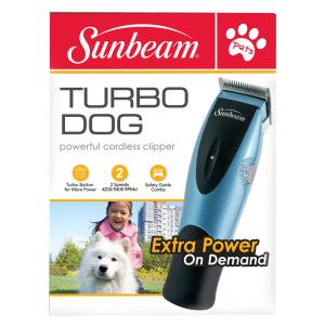 Sunbeam Turbo Dog Cordless Clipper Hair Clippers Trimmers Petsmart Hair Clippers Dog Clippers Petsmart