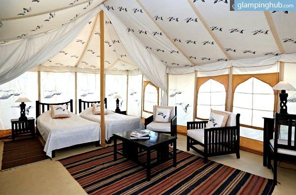Fancy C&ing Tents India | Boutique Accommodations in Rajasthan & Fancy Furnished Tents Near Golden Triangle India | Golden ...