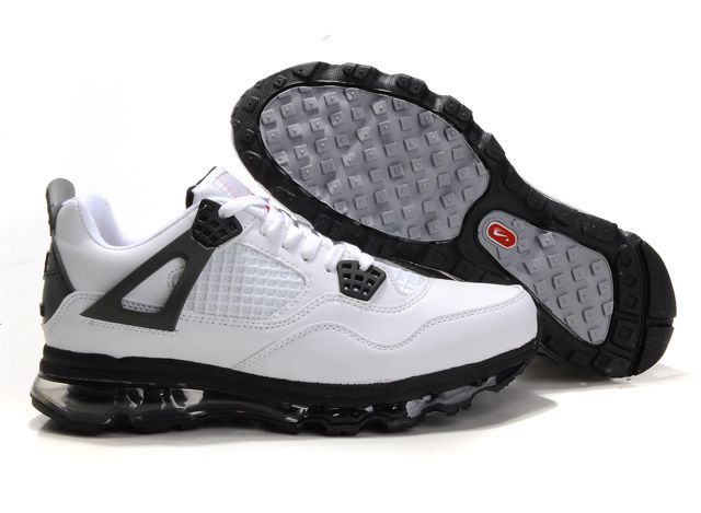 huge selection of 16bb9 fd143 Jordan 4 Air Max Fusion White Black Grey