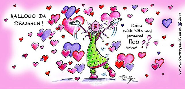 Valentinstag! Love Is In The Air! Liebe Kann Alles. ; )