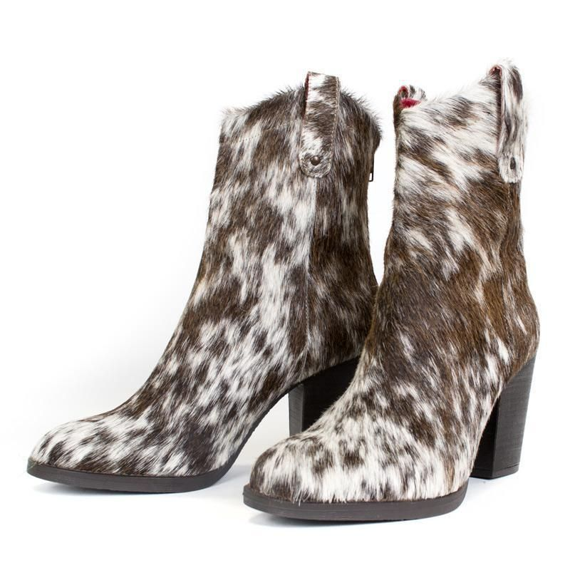 6c12ddf4c6d George Cow Hair Boot Western Shoes