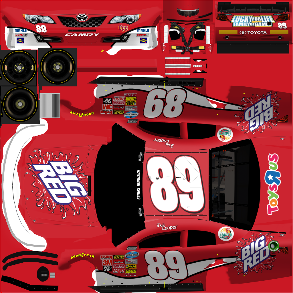 NASCAR Templates 2017 | SRD National Series - Flats - 2014 | Page 3 ...