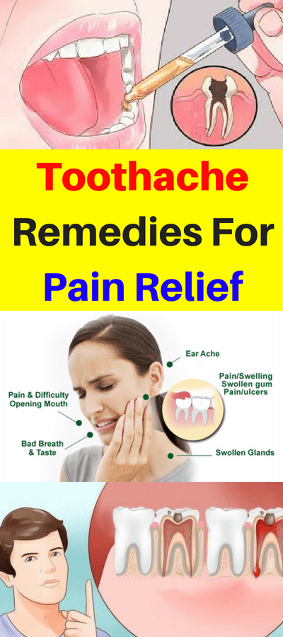 Here Are 20 Toothache Remedies For Pain Relief!!!