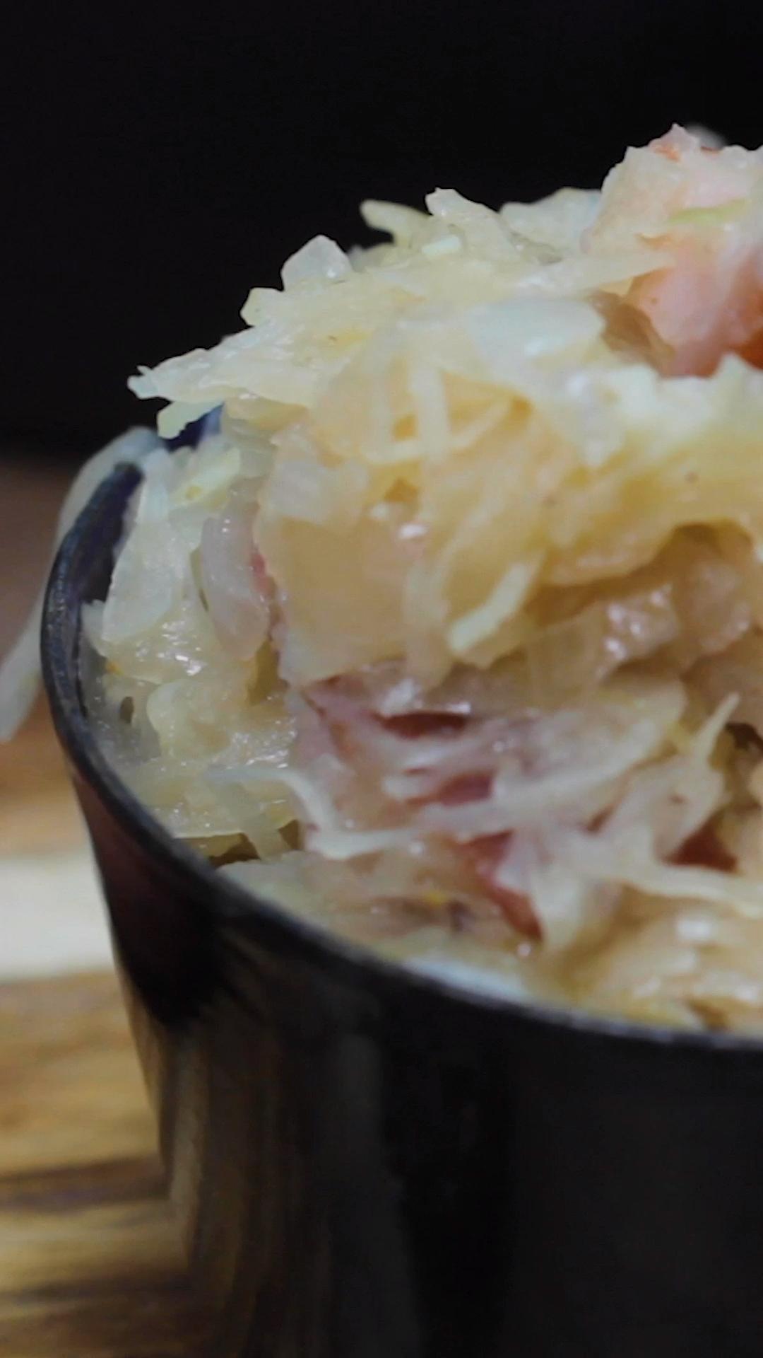 Photo of Sauerkraut with bacon – Grandma's recipe