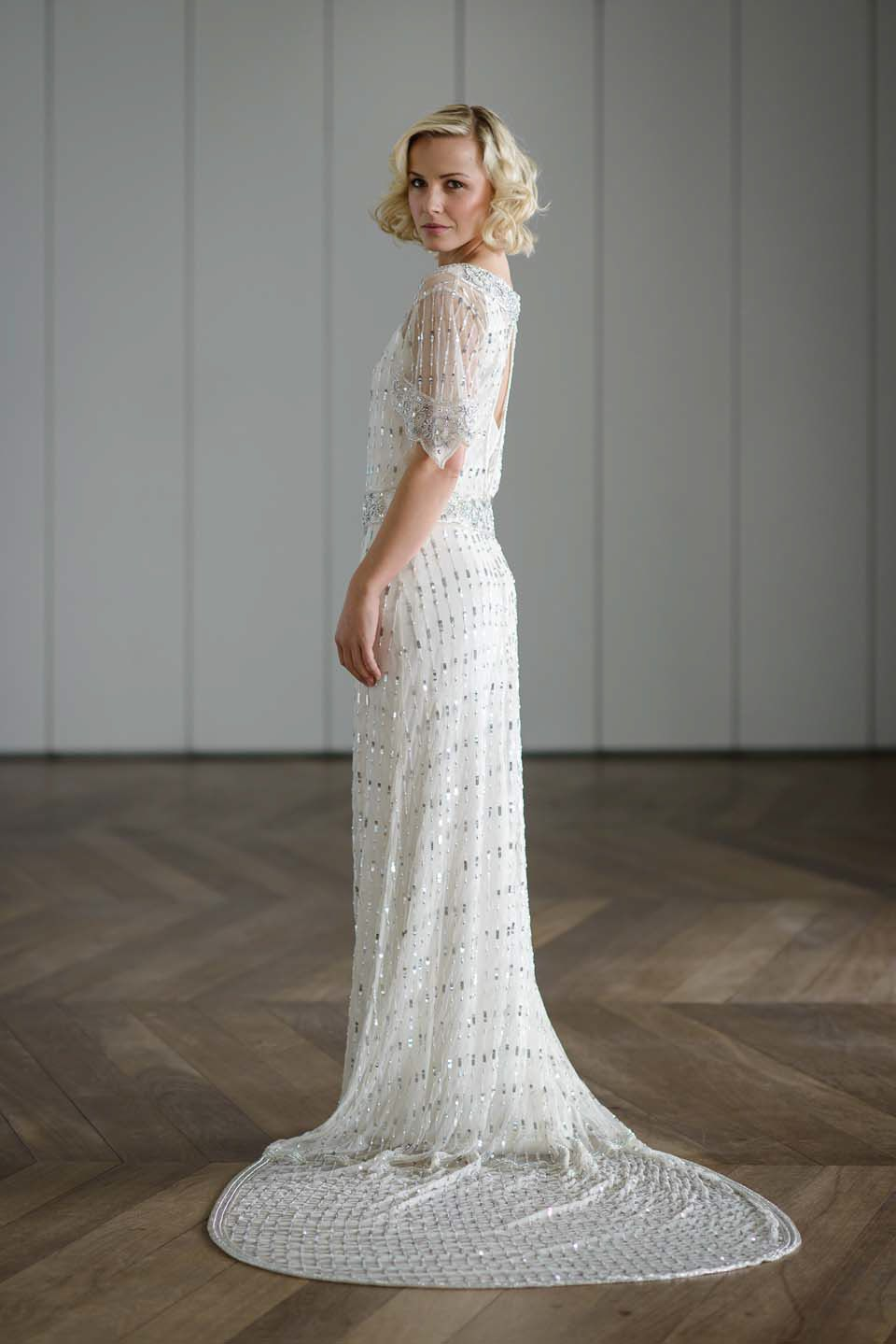 1920's style wedding dresses  Vicky Rowe A Debut Collection of s and s Inspired Heirloom
