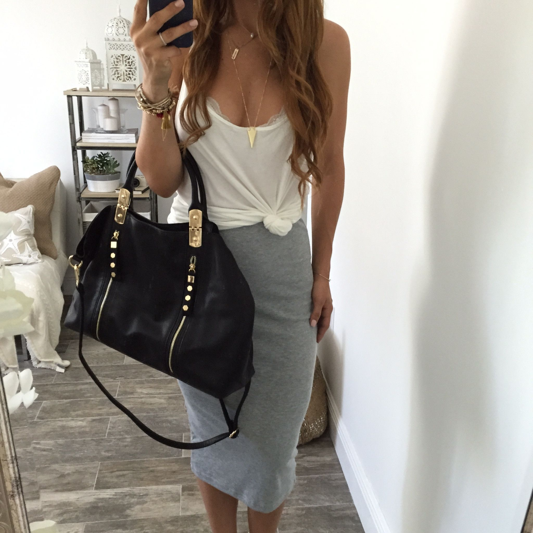 Maya Pencil Skirt