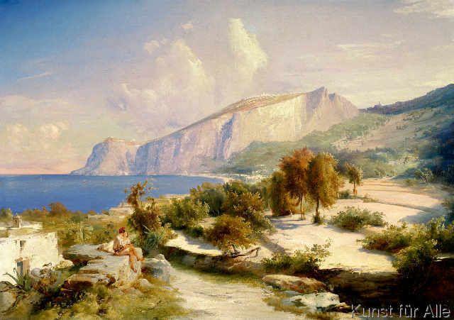 Karl+Blechen+-+Nachmittag+auf+Capri