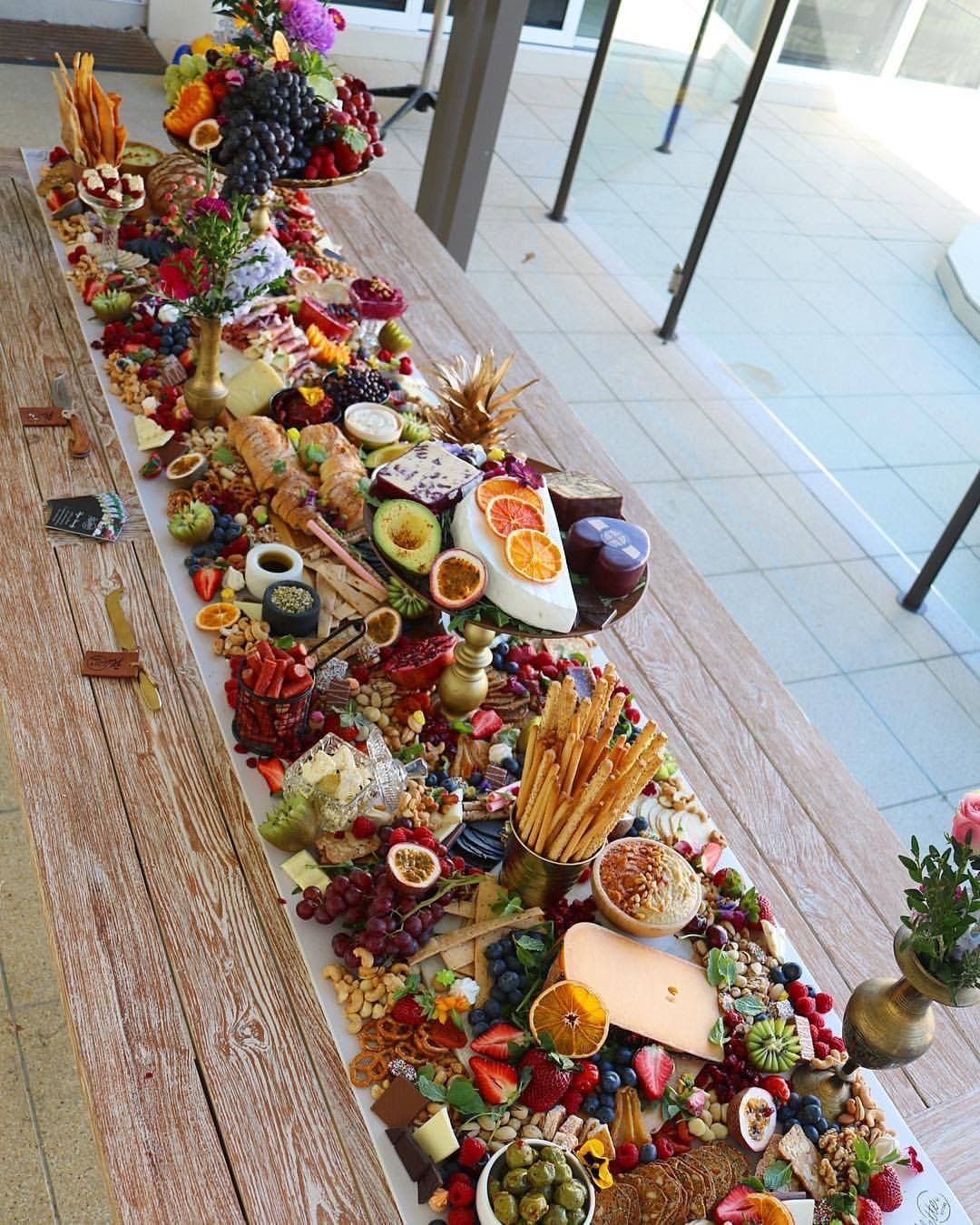 Super Pretty Grazing Table Grazing Table Ideas And Inspiration Setting Up A Grazing Table How To Christmas Christmas Party Food Grazing Tables Food Displays
