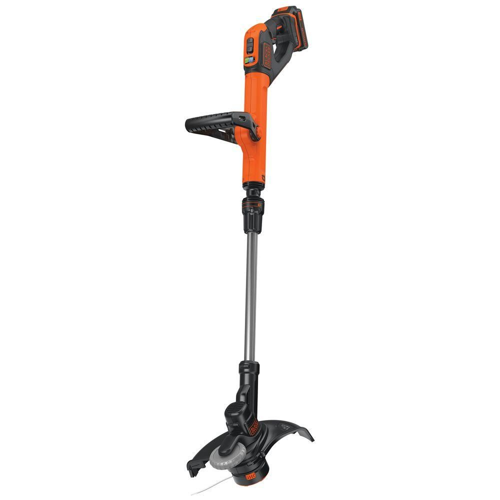 Black Decker 12 In 20 Volt Max Lithium Ion Cordless 2 In 1 String Grass Trimmer Lawn Edger With 2 5ah Battery And Charger Included In 2019 Gardening Lawn