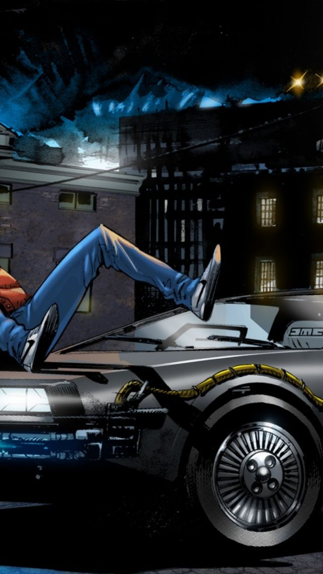 Back To The Future Hd Wallpapers And Backgrounds 1600 1200 Back To The Future Iphone Wallpapers 23 Wallpaper Future Iphone Back To The Future Future Wallpaper