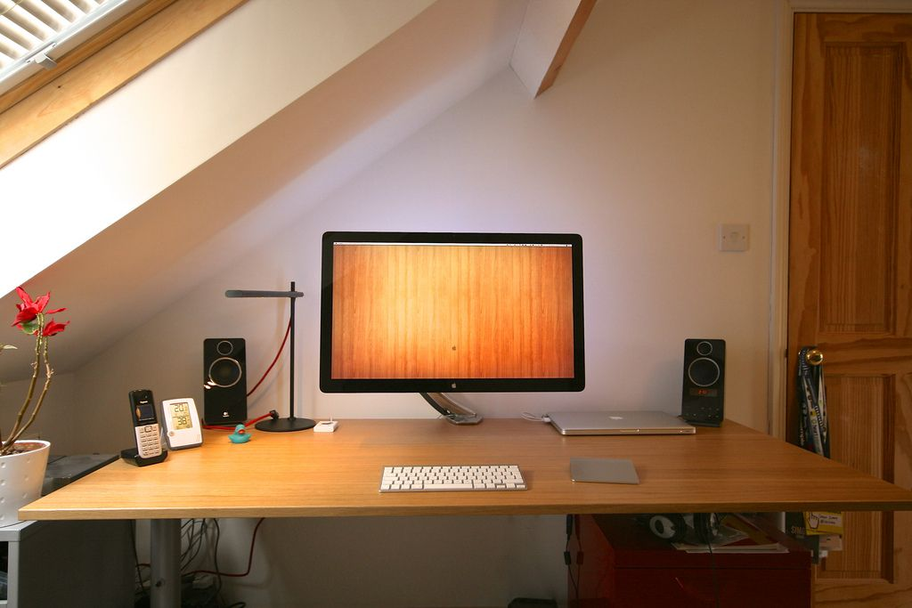 overhead office lighting. simon starrs neat setup and overhead skylighting the desk is an ikea galant office lighting