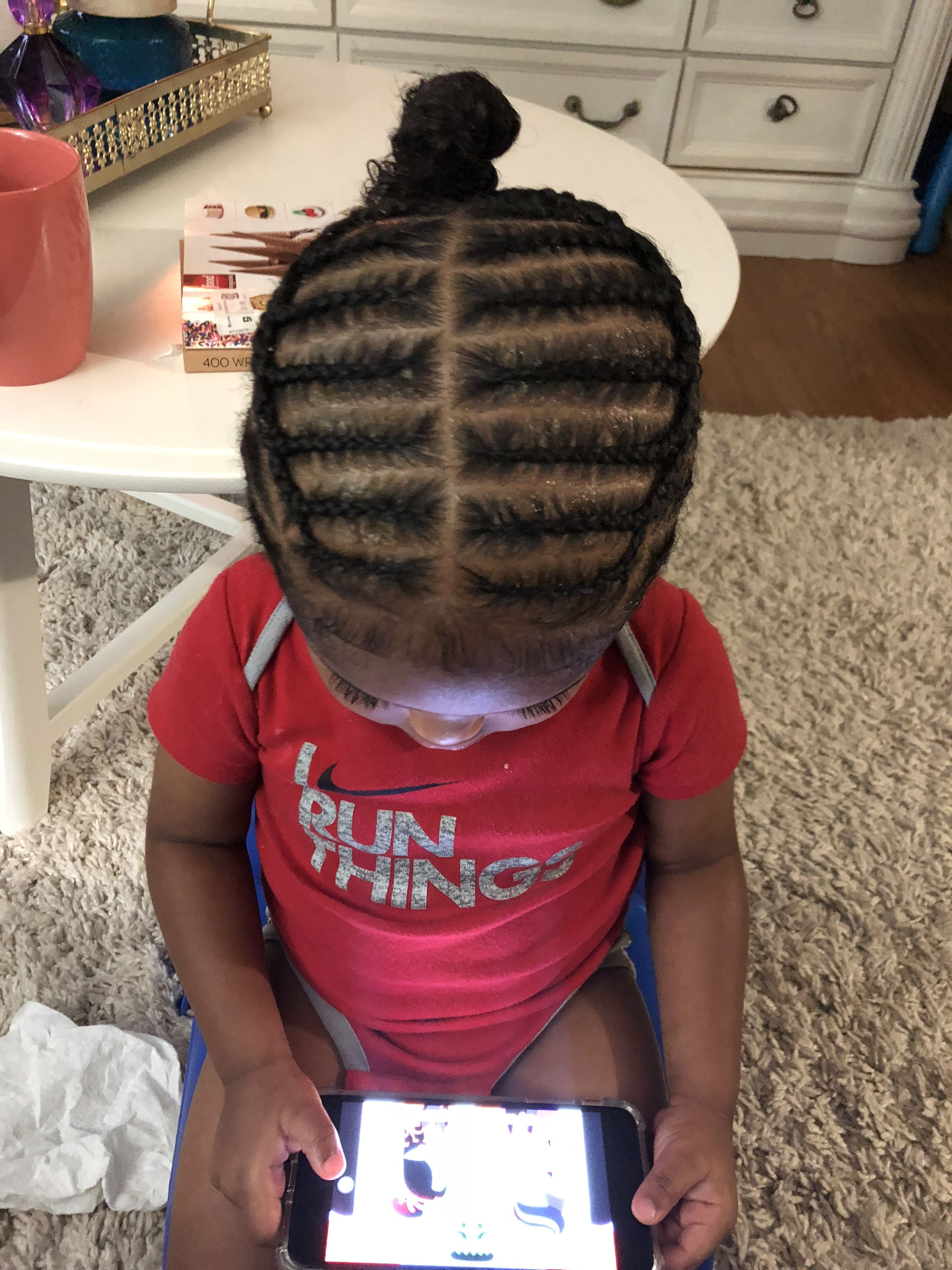 little boys braids follow him caius c. young by