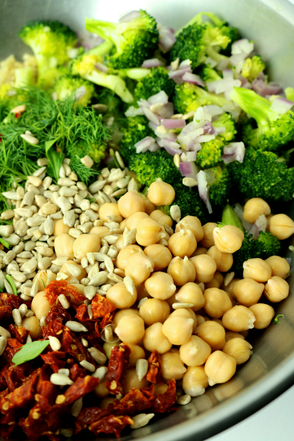 High Protein Vegan Salad That Will Keep You Energized