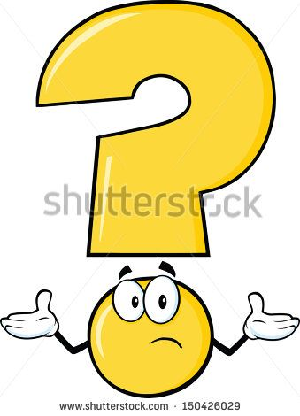 Yellow Question Mark Cartoon Character With A Confused Expression Cartoon Clip Art Cartoon Cartoon Characters