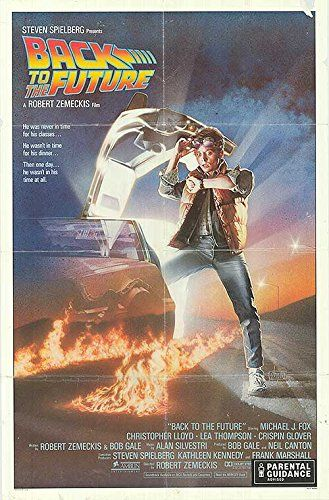 Back to the Future - Authentic Original 27 x 41 Movie Poster @ niftywarehouse.com