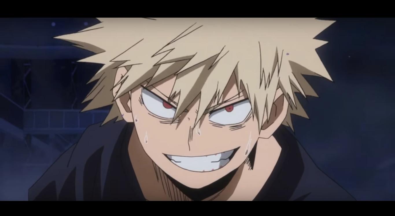 Bakugou Katsuki Boku No Hero Acaddemia Hero Academia Characters Evil Smile Hero