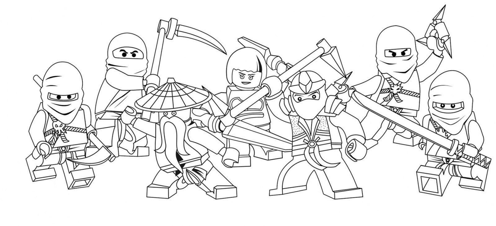 Lego Ninja Go hd. Dibujos de Lego para colorear | Para colorear ...