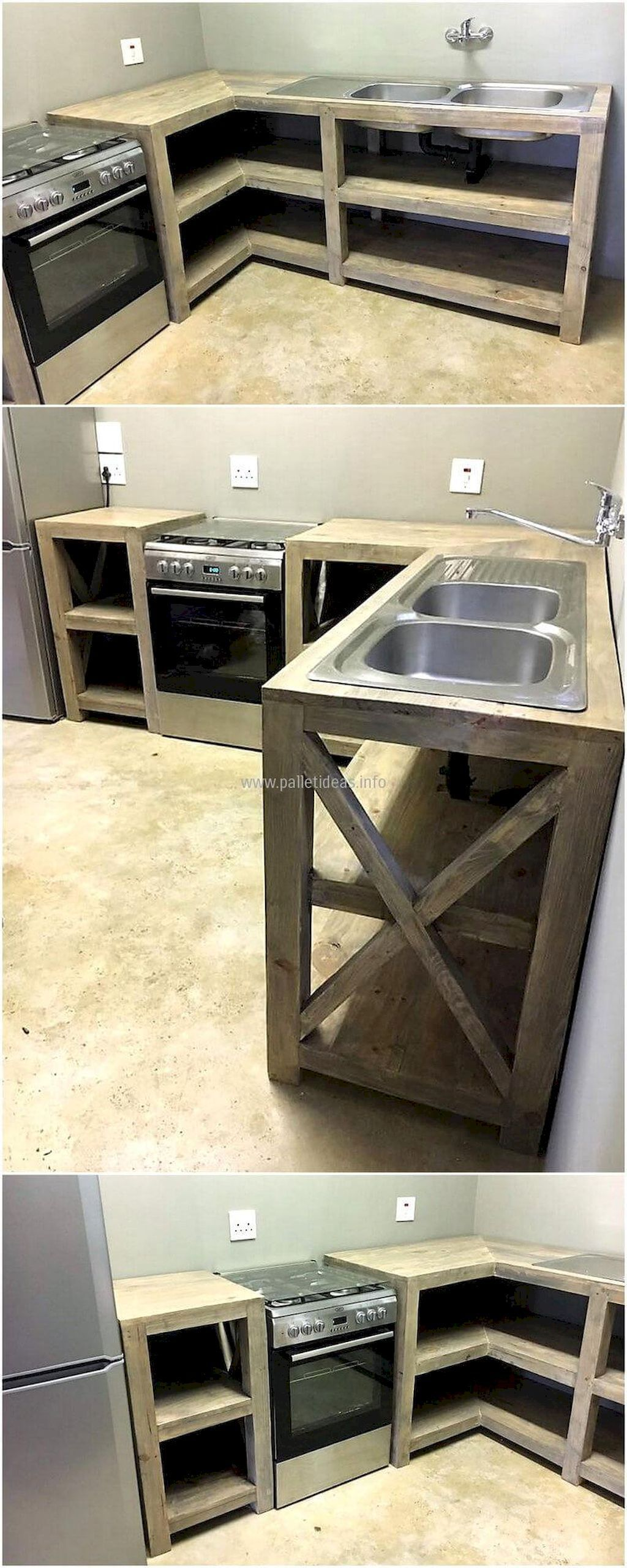 Cucina Pallet Fai Da Te easy pallet project for home decor (41) (with images) | wood
