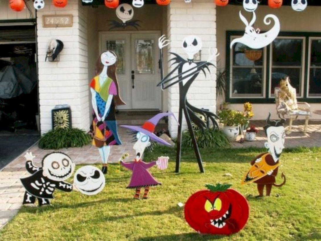30 Easy And Cheap Halloween Decor Ideas For Frontyard