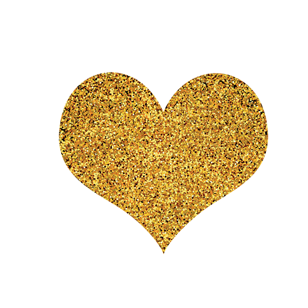 Free Download High Quality Gold Heart Png Transparent Background Gold Grains Heart Png This Is Vector Golden Heart Png Icon Image It Can Achtergrond Goud Png