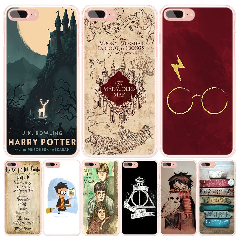 Harry Potter Marauders Map and Deathly Hallow Quote Phone