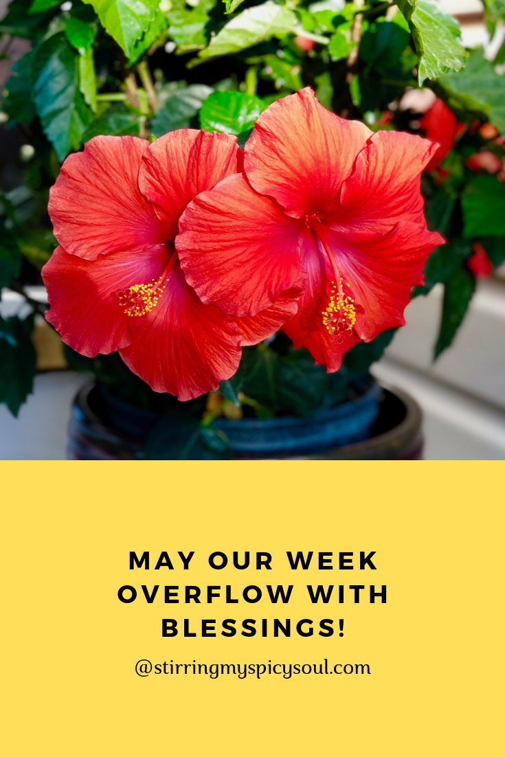 May Our Week Overflow With Blessings Happy Monday Y All Blessed Inspirational Quotes Daily Motivation