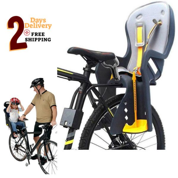 Australia Bicycle Rear Carrier Kids Seat Adjustable All Frame Size