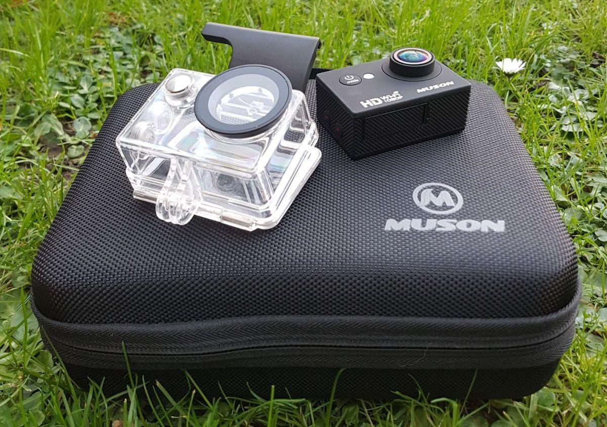 Muson action cam review Camera, Burst photos, Wide angle