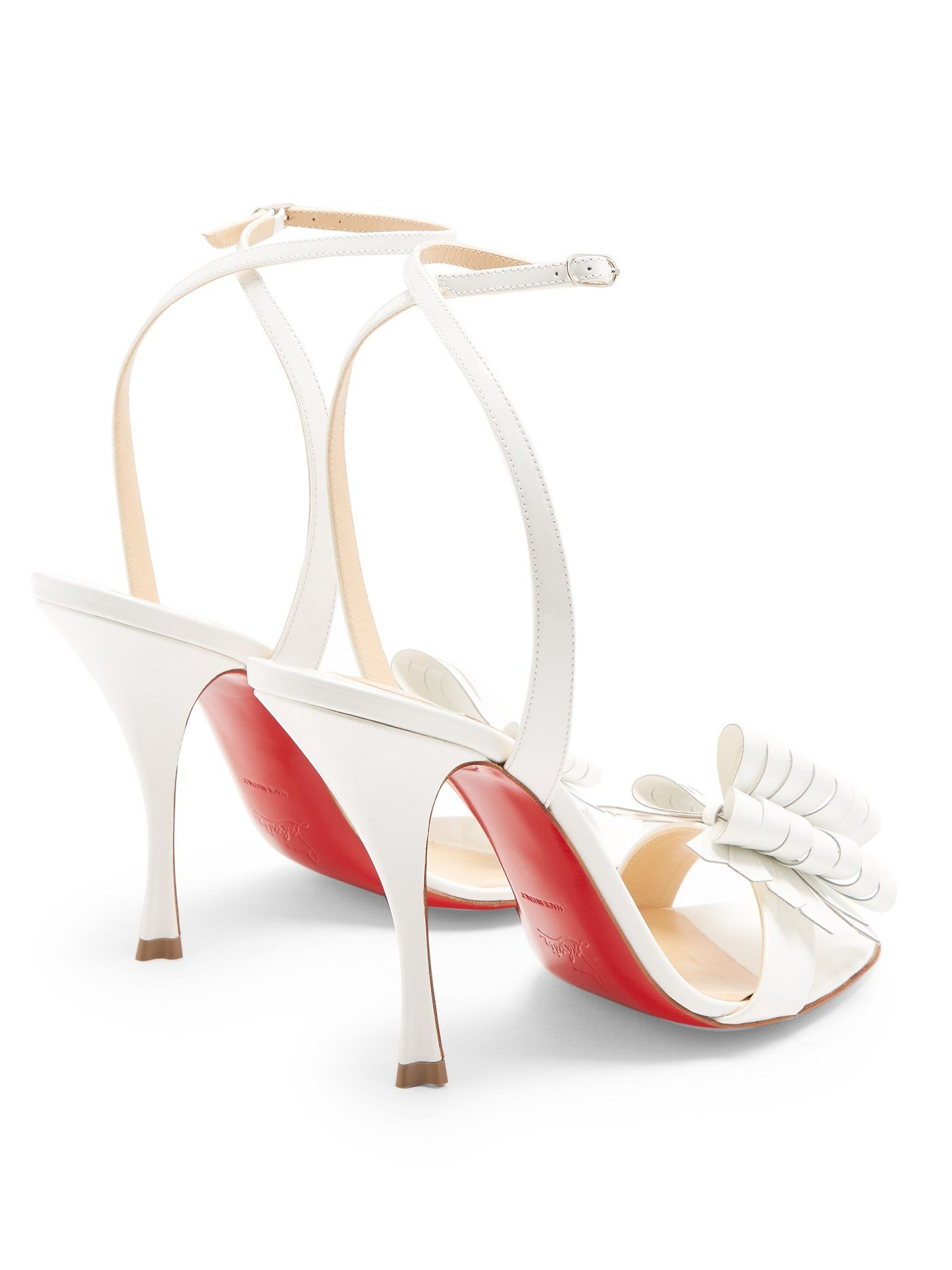 new concept 63202 944a2 Miss Valois 85 patent-leather sandals | Christian Louboutin ...