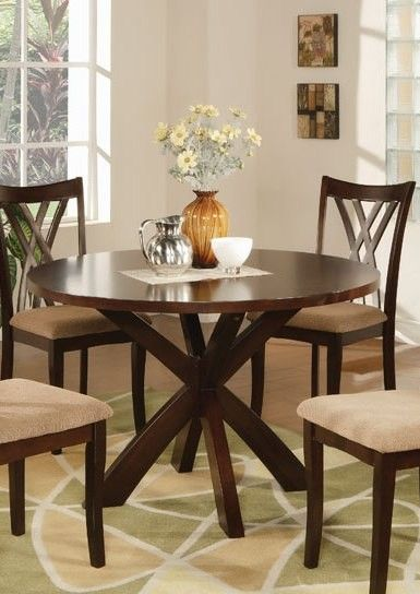 Coaster Dining Table in Espresso 101581 - All Kitchen/Dinette