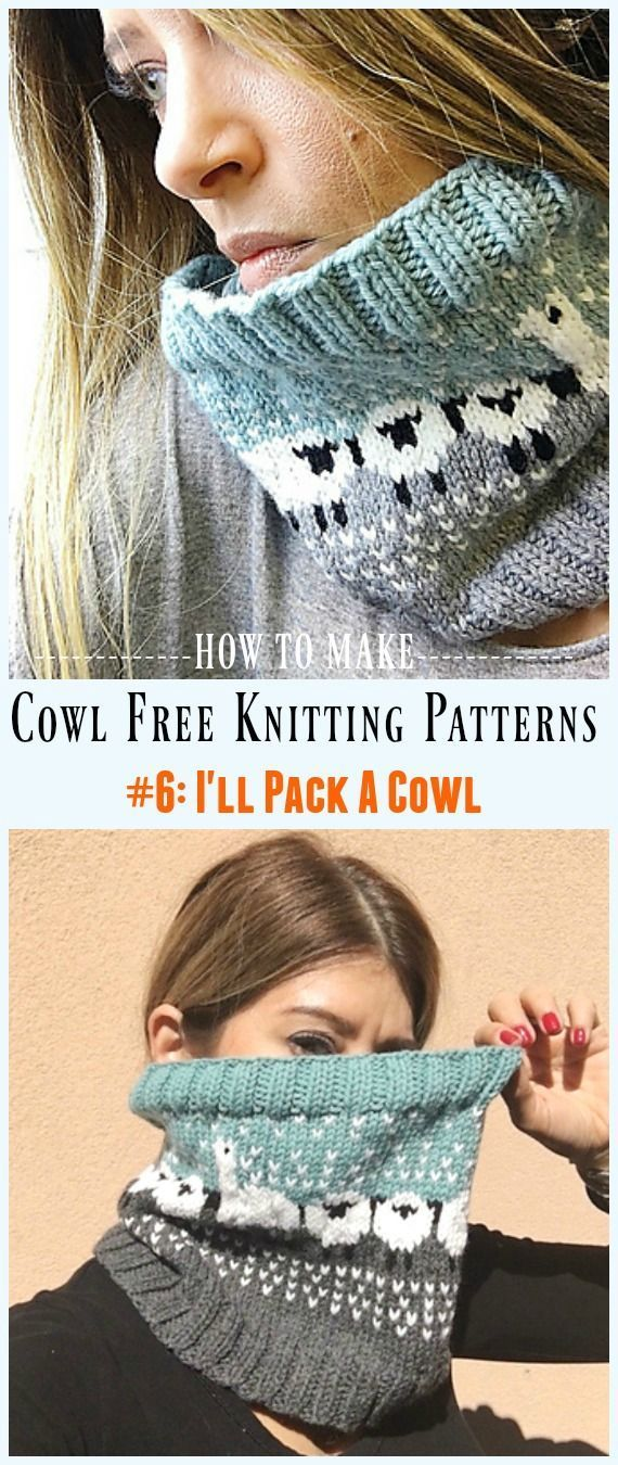 Photo of Ich packe ein Cowl Free Strickmuster – Cowl Free #Knitting Patterns #knittingp …