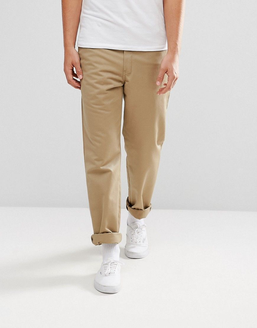 Master Pant In Relaxed Tapered Fit In Stone - White Carhartt Work in Progress