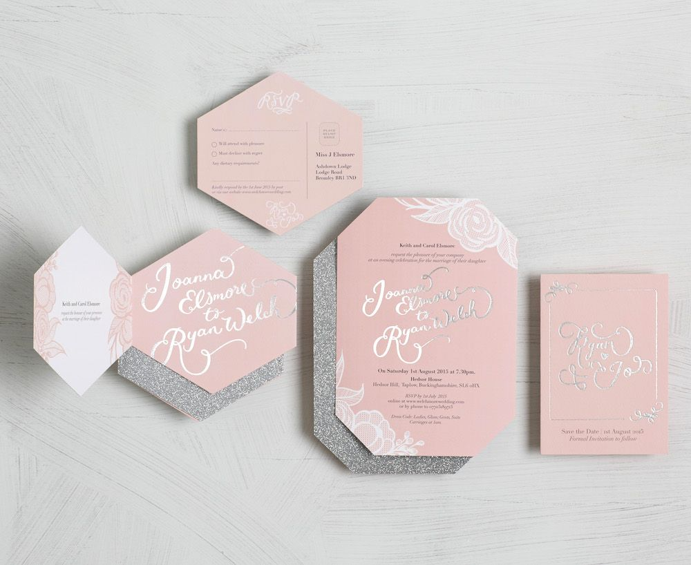 BerinMade Stationery New Collection Bold Colourful Wedding ...